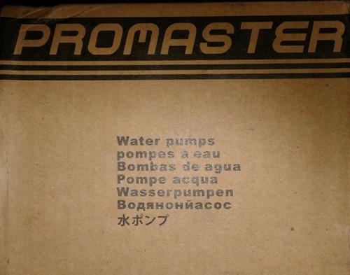 bomba agua chevrolet spark 1.0