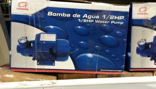 bomba agua de 1/2 hp