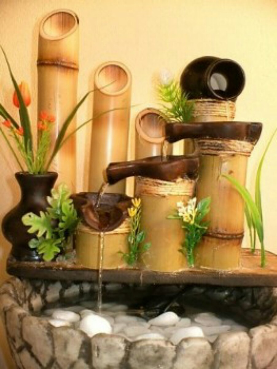 Fuentes de agua para casa cascadas jardinmuro llorn for Cascada casera para jardin
