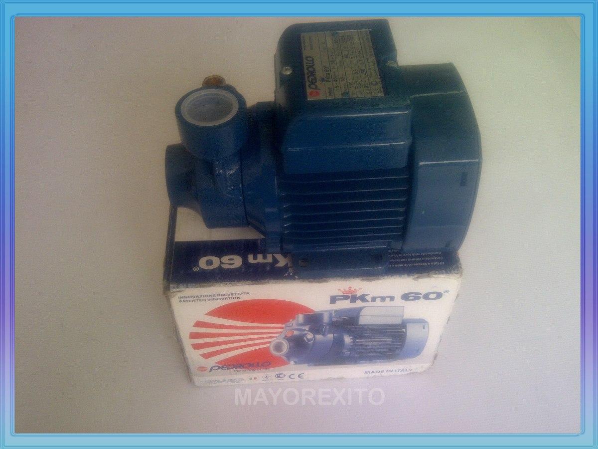 Bomba agua pedrollo periferica 1 2 hp modelo pkm 60 110v - Bombas de agua electricas precios ...