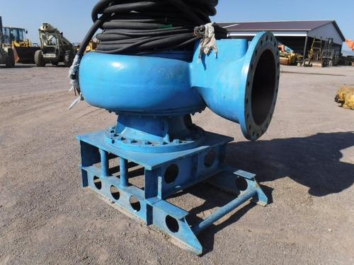 bomba agua pozo 8  flygt  electrica motor 214 hp 12965