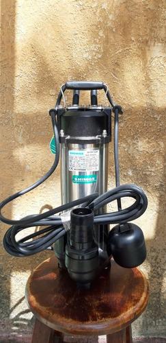 bomba agua shimge drenaje sumergible 1 hp 110v wvsd75f 170*