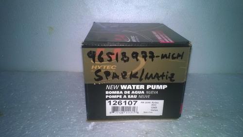 bomba  agua spark/mati michi,moru, usa p 96518977-mich-moruc