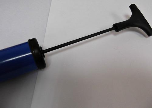 bomba aire portatil para balon futbol basket voleibol aguja