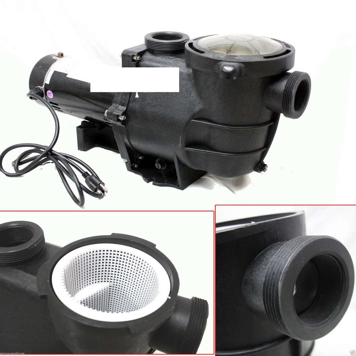 Bomba alberca de 1 hp con filtro de arena de 16 9 699 for Bomba para piscina con filtro