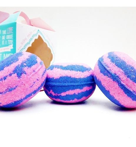 bomba baño efervescente ,en hermosa caja candy presentacion