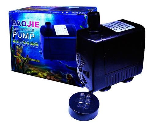 bomba bl-2190 c/luz 1.3m 1000l/h fuente feng shui acuario rs