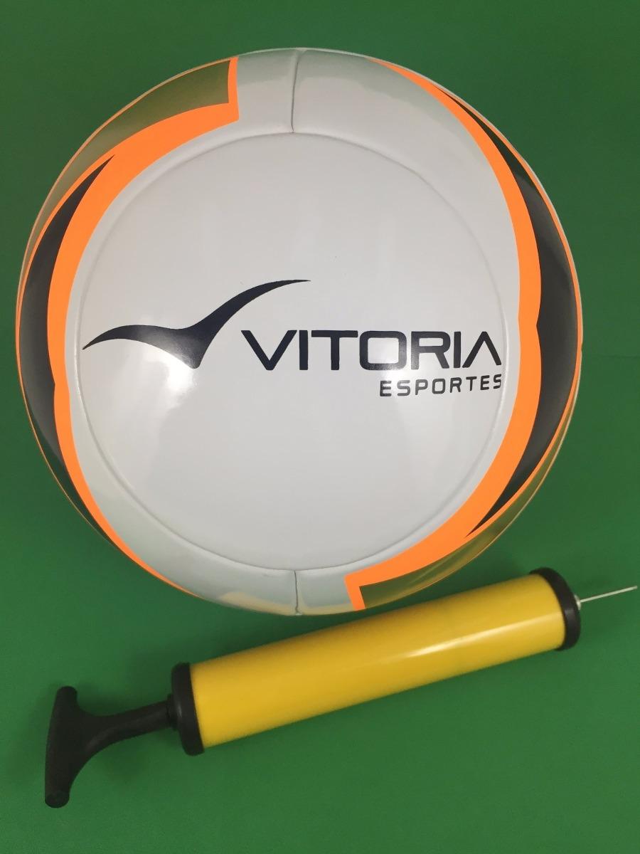 d3e5332518853 bomba + bola futebol de campo oficial vitoria termotec pu. Carregando zoom.