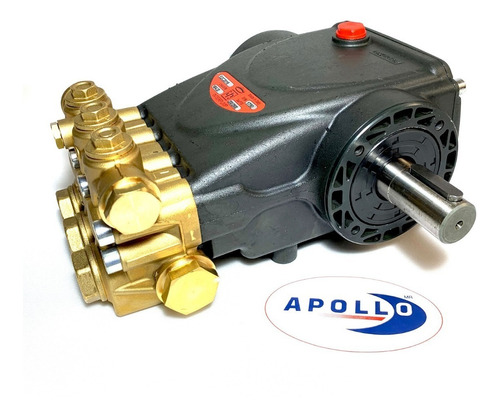 bomba cabezal para hidrolavadora industrial 7.5 hp interpump