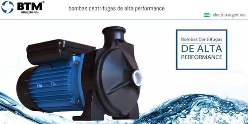 bomba centrifuga btm h-750 monofasica 3/4 hp elevadora