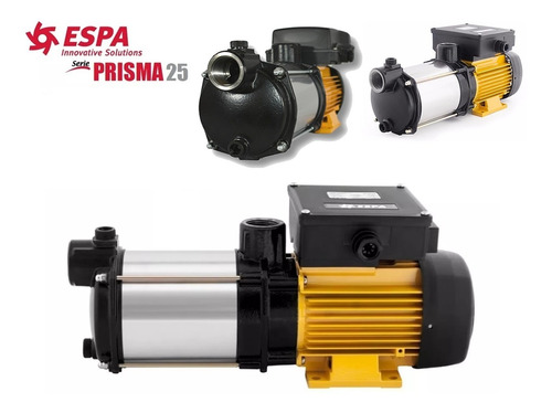 bomba centrifuga multietapas 2 hp  220 a 440v espa prisma