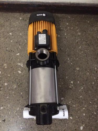 bomba centrifuga multietapas espa 3 hp 220 voltios trifasica