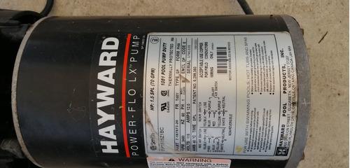 bomba centrifuga para psicina 1.5 hp hayward