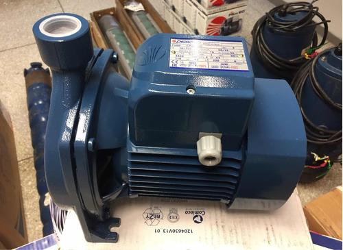 bomba centrífuga pedrollo 1 hp, 110 / 220 voltios. italiana.