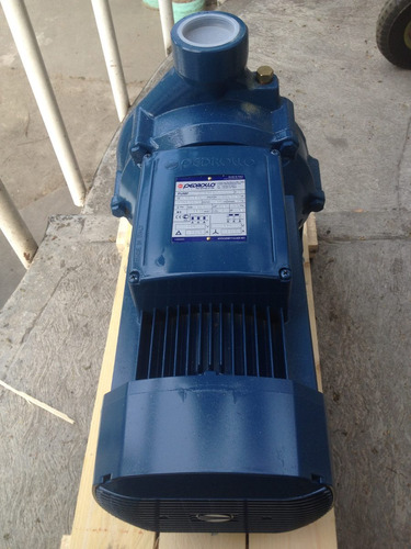 bomba centrifuga pedrollo 10 hp, 220-440 vlts, trifasica .