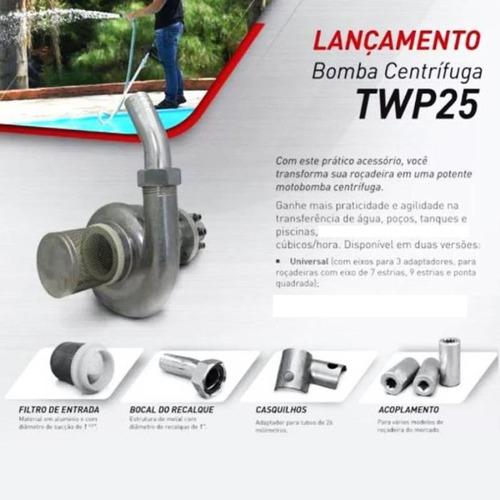 bomba centrífuga universal p/acoplar roçadeira twp25 toyama