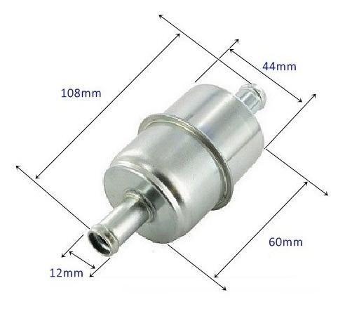 bomba combustivel externa gsi + dosador hp + pre filtro