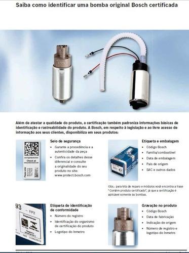 bomba combustível original bosch gm zafira 2.0 mpfi sfi 16v