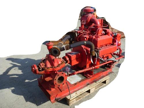 bomba contra incendio peerless pump 5abf10.50 cummins  v378