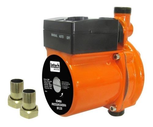 bomba d água pressurizadora 120w, bfl120 - intech machine