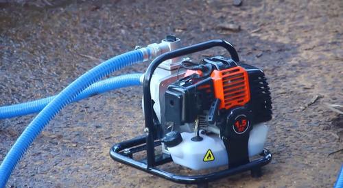 bomba d'agua motobomba gasolina vulcan 43cc + frete grátis