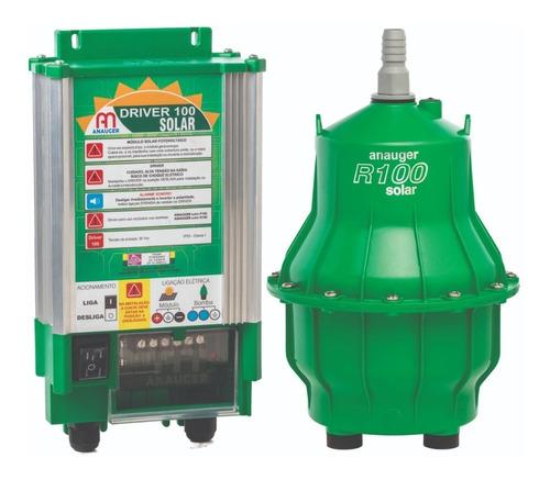bomba d'água solar anauger r100 - (s/ placa solar)