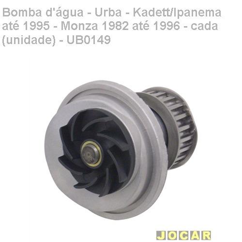 bomba dágua-urba-kadett/ipanema/1995-monza 1982/1996-ub0149