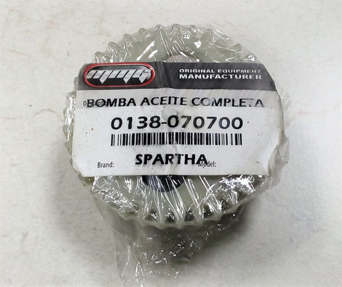 bomba de aceite completa spartha200 mmg original (37dientes)