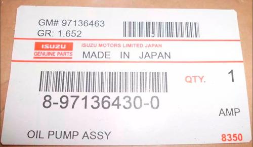 bomba de aceite de luv dmax 3.5 original japonesa