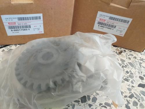 bomba de aceite npr 4hg1 4hf1  isuzu original somos tienda