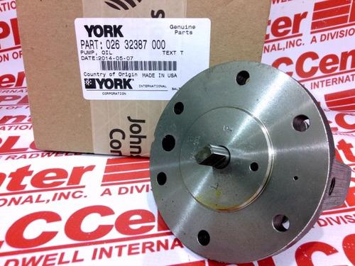 bomba de aceite york chiller reciprocante 150t 026-32387-000