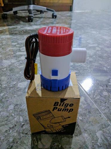 bomba de achique 1100 gph. amarine excelente calidad