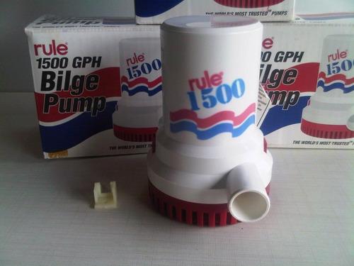 bomba de achique rule 1500 gph