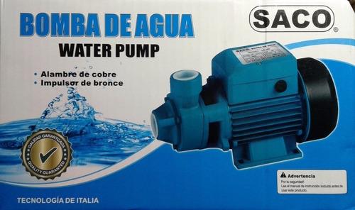 Bomba de agua 1hp marca saco bs en for Marcas de bombas de agua