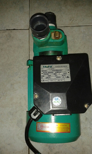 bomba de agua 1hp taifu