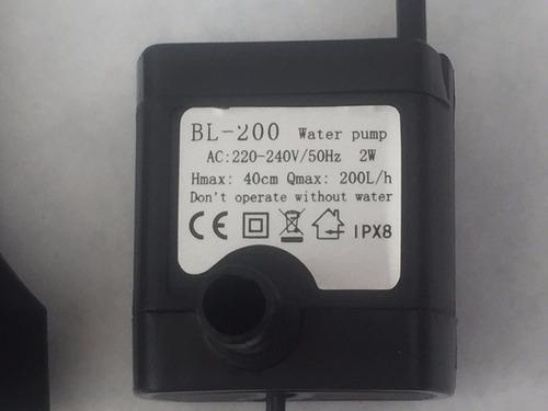 bomba de agua 2 w sin luz fuentes cascadas feng shui