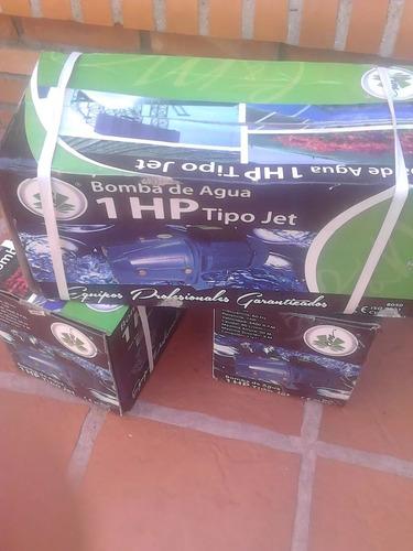 bomba de agua autocebante jet 1hp
