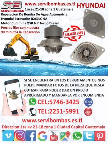 bomba de agua automotriz hyundai grand i10 1.2 guatemala