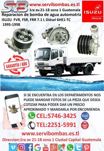 bomba de agua automotriz international dt466,dt360 guatem