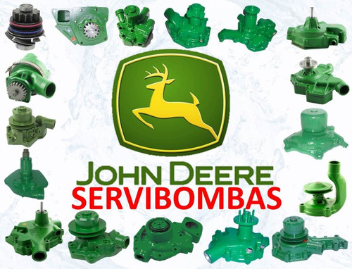 bomba de agua automotriz john deere 9200,9220,9300,9320,9320