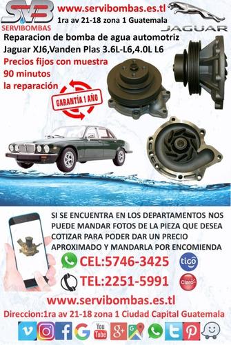 bomba de agua automotriz land rover guatemala
