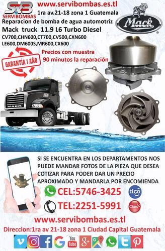 bomba de agua automotriz mack e-6,e-7,676 en  guatemala