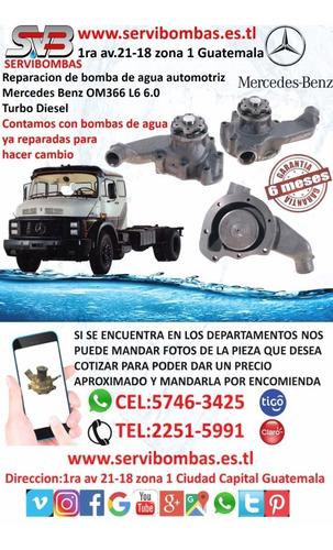 bomba de agua automotriz mercedes benz c-class,c240,c43,c320