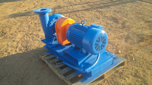 bomba de agua centrifuga electrica bell & gossett de 8 x 6