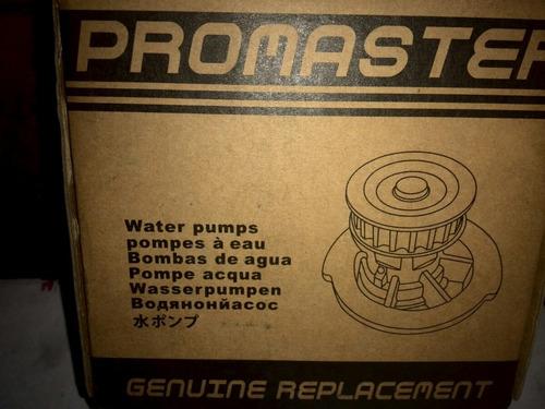 bomba de agua chevrolet cruze promaster