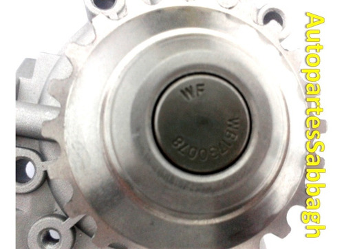 bomba de agua chevrolet spark 2006 al 2015 original