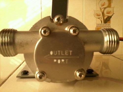 bomba de agua dc de 12 voltios 5 amperes
