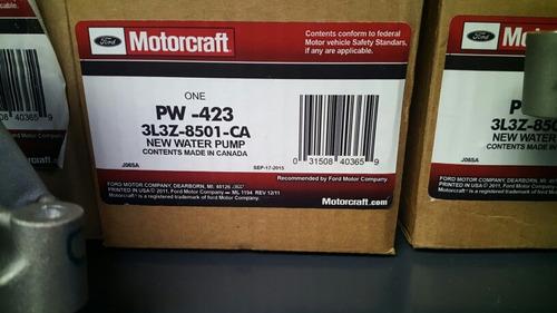 bomba de agua explorer motor 4.6 3v 2006-11 original 64