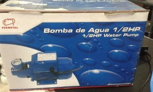 bomba de agua fermetal de 1/2 hp