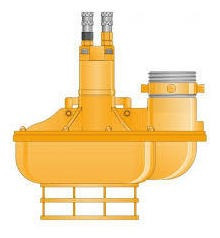 bomba de agua jcb hidraulica 2000lpm